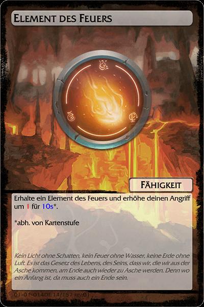 Element des Feuers